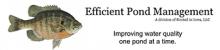 Efficient Pond Management